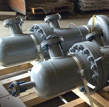 heat-exchangers ready for shipping
