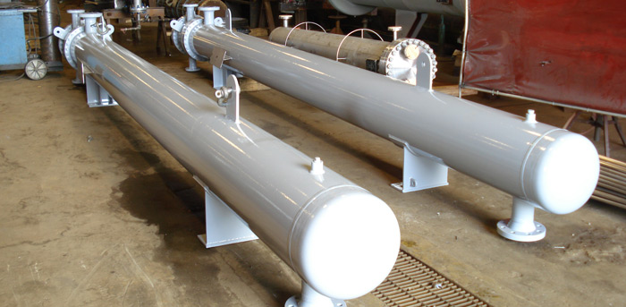 Heat exchangers in stock